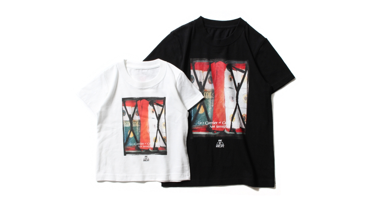 K012 NOT SMUGGLER KIDS TEE (WHITE BLACK) ¥3,800