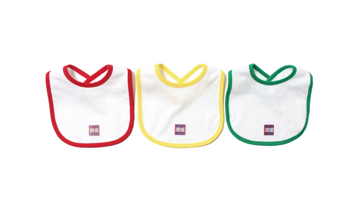 K001 IRIE TAG BIB (RED YELLOW GREEN) ¥2,200