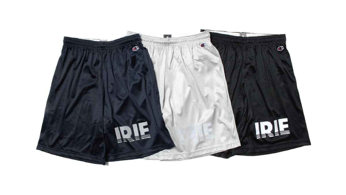 013 ×Champion IRIE MESH SHORTS (NAVY GRAY BLACK) ¥9,000