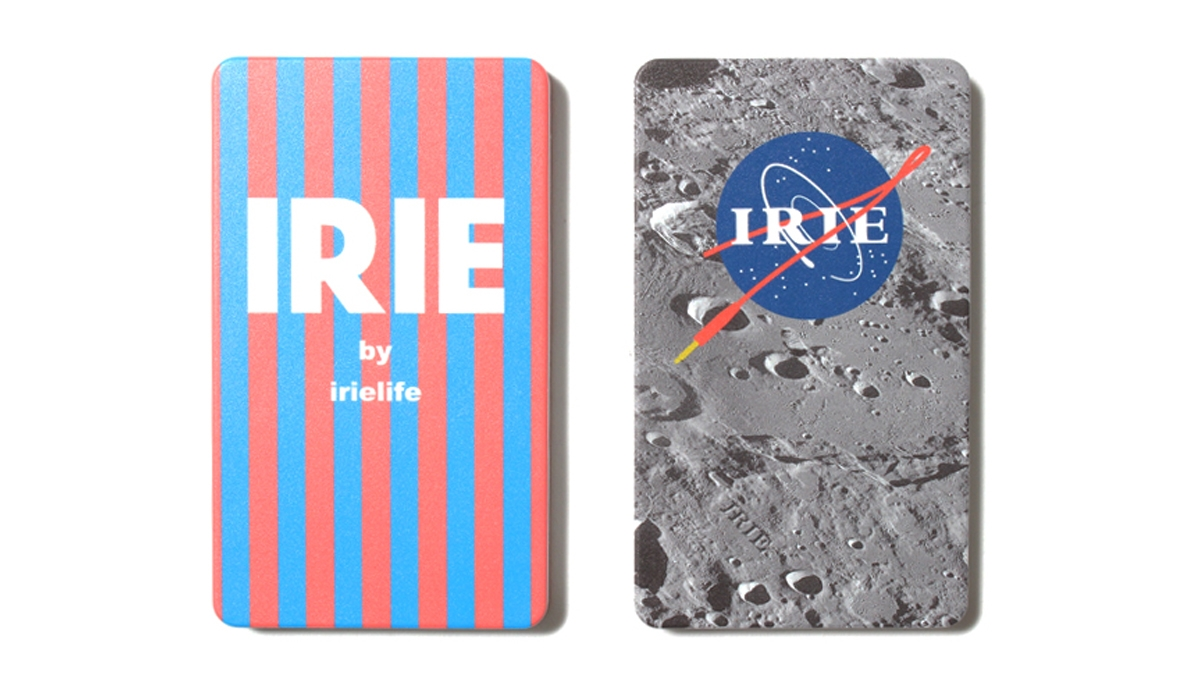 020 IRIE MOBILE BATTERY CHARGER (STRIPE MOON)¥3,800