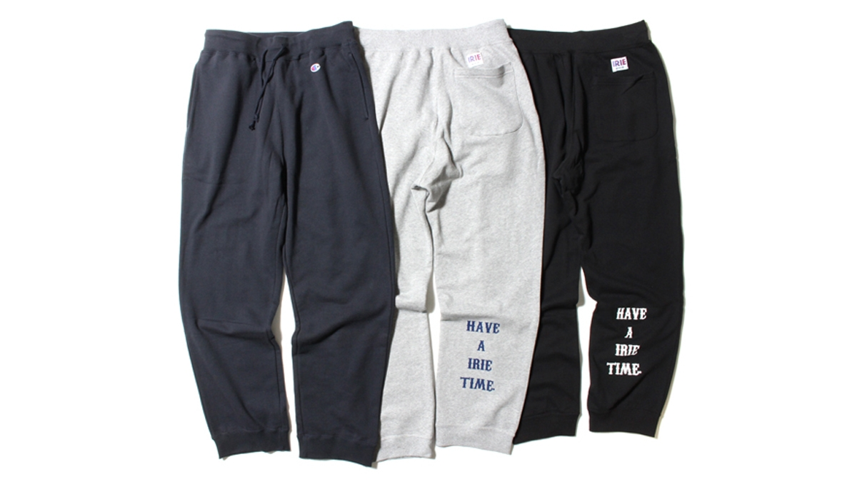 030 ×Champion IRIE TIME SWEAT PANTS (GRAY NAVY BLACK)¥13,000