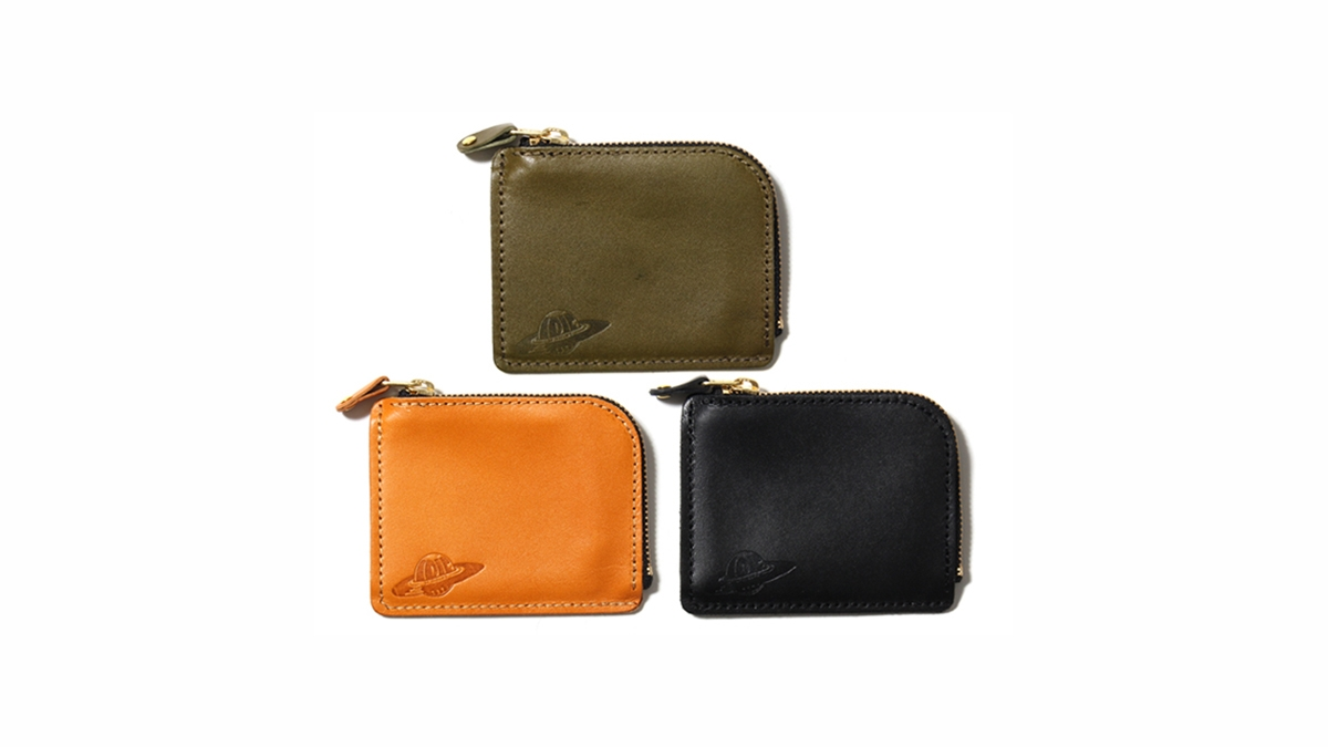 032 IRIE PLANET LETHER COIN CASE(CAMEL GREEN BLACK)¥6,500