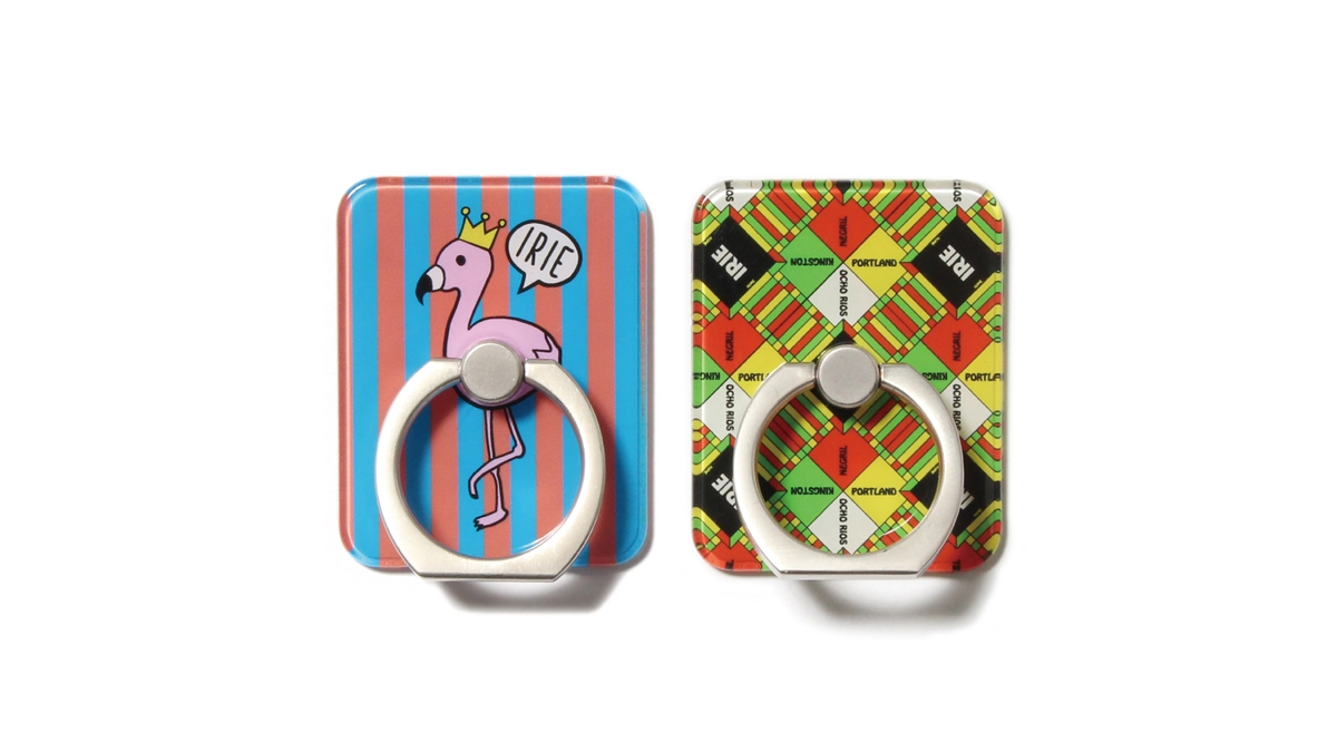 002 IRIE SMART PHONE RING(MULTI STRIPE) ¥1,000