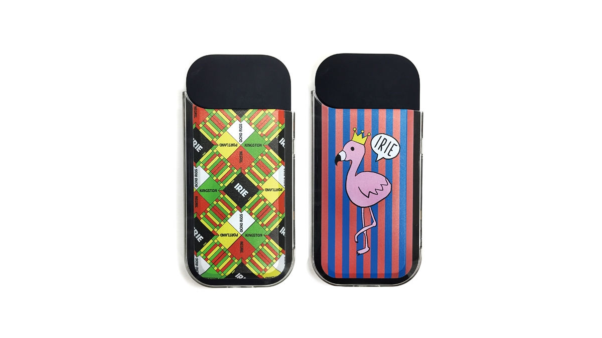 003 IRIE IQOS CASE(MULTI STRIPE) ¥2,000