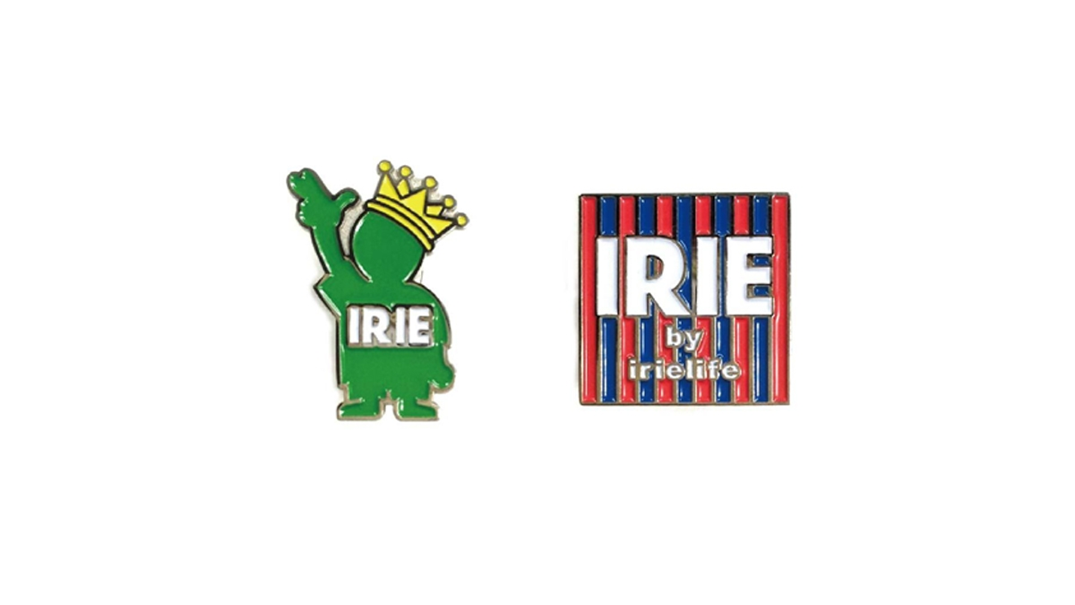 006 IRIE PINS(2COLOR SET) ¥3,200