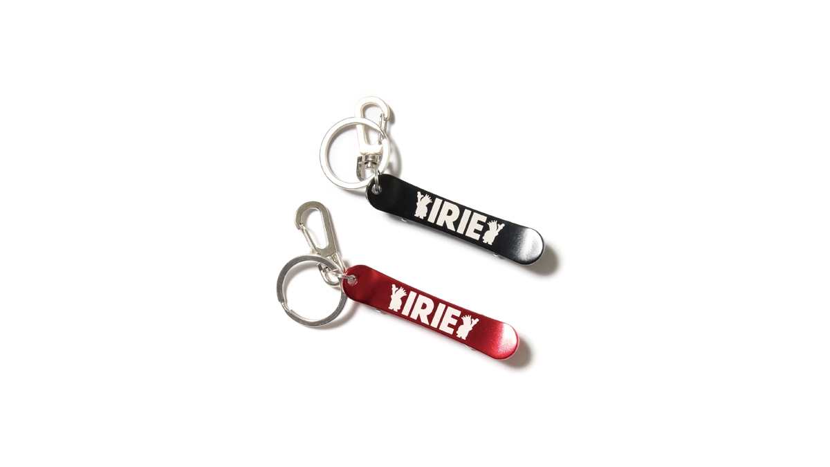 010 IRIE DECK KEY HOLDER (RED BLACK) ¥1,000