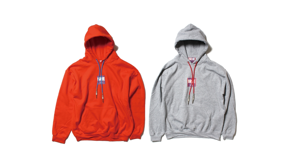 012 CODE MINI LOGO HOODIE (ORANGE GRAY) ¥12,000