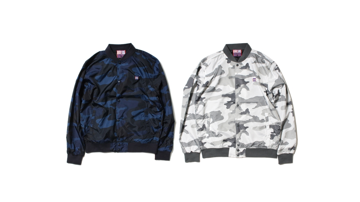 015 IRIE ARMY STUDIUM JACKET ¥13,800