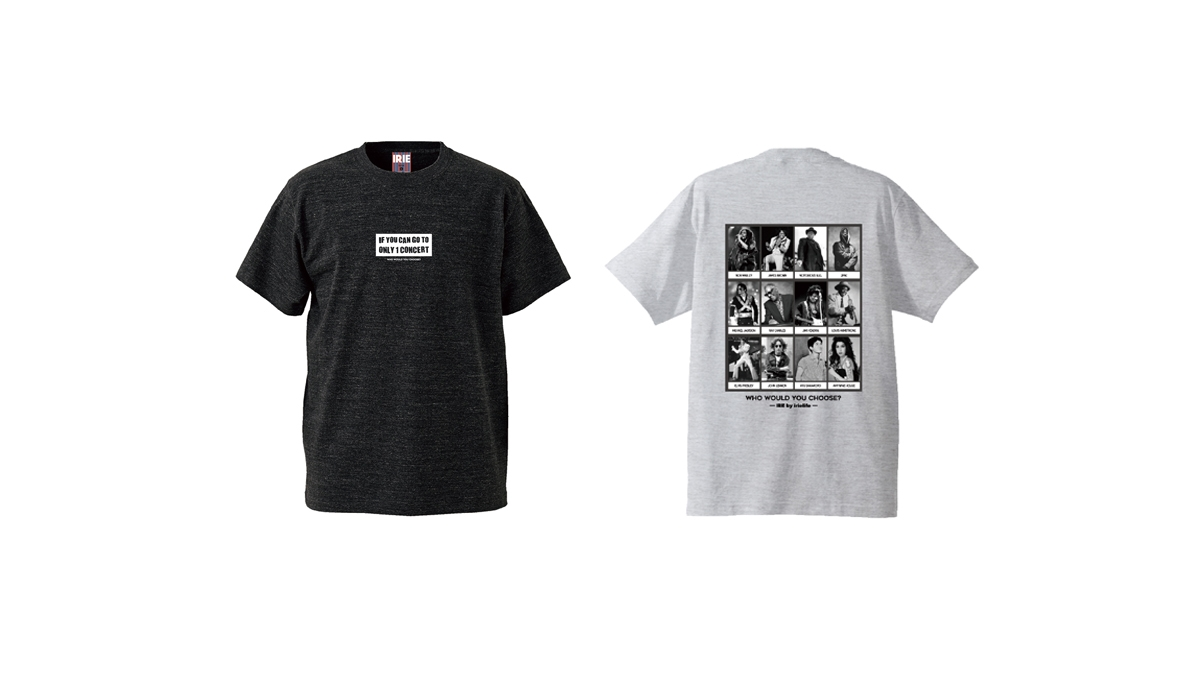 030 ONLY ONE CONCERT TEE (GRAY H.BLACK) ¥4,500