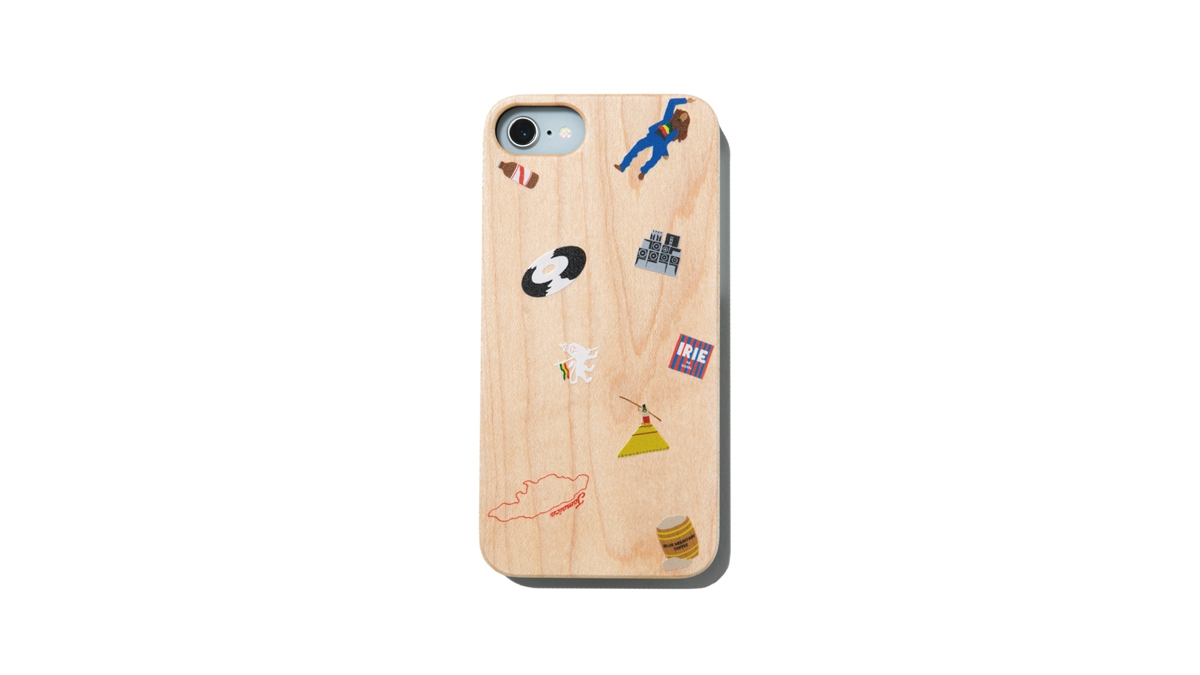008 JAMAICAN ICON WOOD iPhone CASE ¥4,000