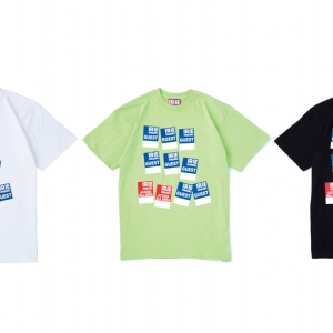 004 IRIE GUEST PASS TEE (WHITE:LINE:BLACK) ¥4,000