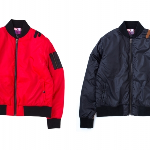 029 IRIE MA-1 (RED BLACK) ¥23,800