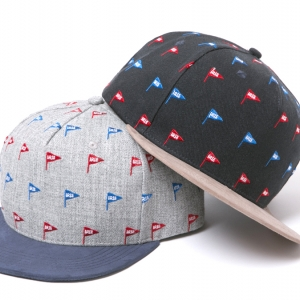 026 ×7UNION IRIE FLAG SNAP BACK CAP ( GRAY NAVY ) ¥7,000
