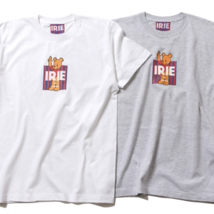 046 IRIE BEAR BOX TEE ( WHITE GRAY ) ¥4,500