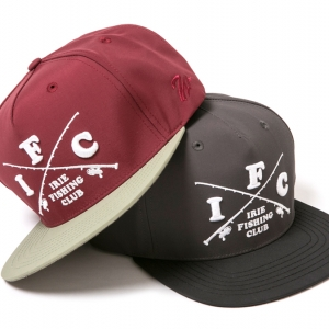 012 I.F.C CAP ( BURGUNDY BLACK ) ¥5,800