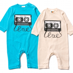 K001 IRIE MIX ROMPERS ( Lt.BLUE NATURAL ) ¥3,800