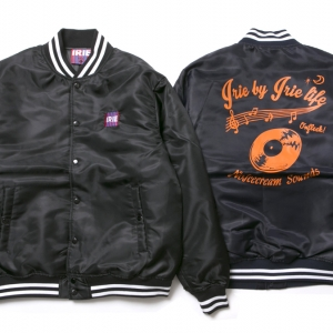 016 RECORD NYLON JACKET (BLACK NAVY) ¥14,500