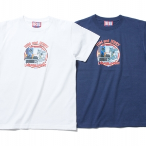 007 ×TOM & JERRY T-SHIRT (WHITE NAVY) ¥5,000