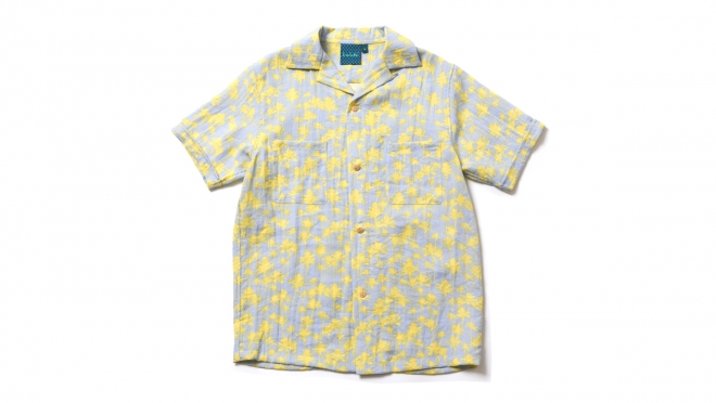 048 OASIS SHIRT ( YELLOW ) ¥13,500