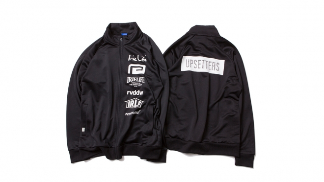 005 UPSETTERS JERSEY (BLACK) ¥13,000