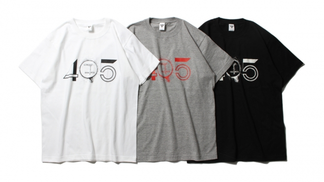 053 VJ 45 DISCO TEE (WHITE GRAY BLACK) ¥5,000