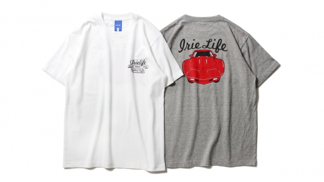 024 DRIVE THROUGH TEE (WHITE GRAY) ¥5,500
