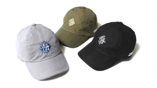 022 LIFE 4PANEL CAP (GRAY OLIVE BLACK) ¥7,000