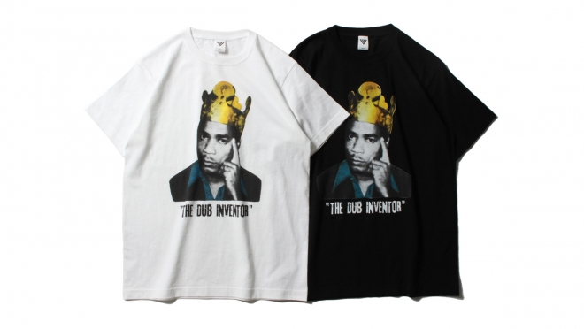057 VJ THE DUB INVENTOR TEE (WHITE BLACK) ¥5,000