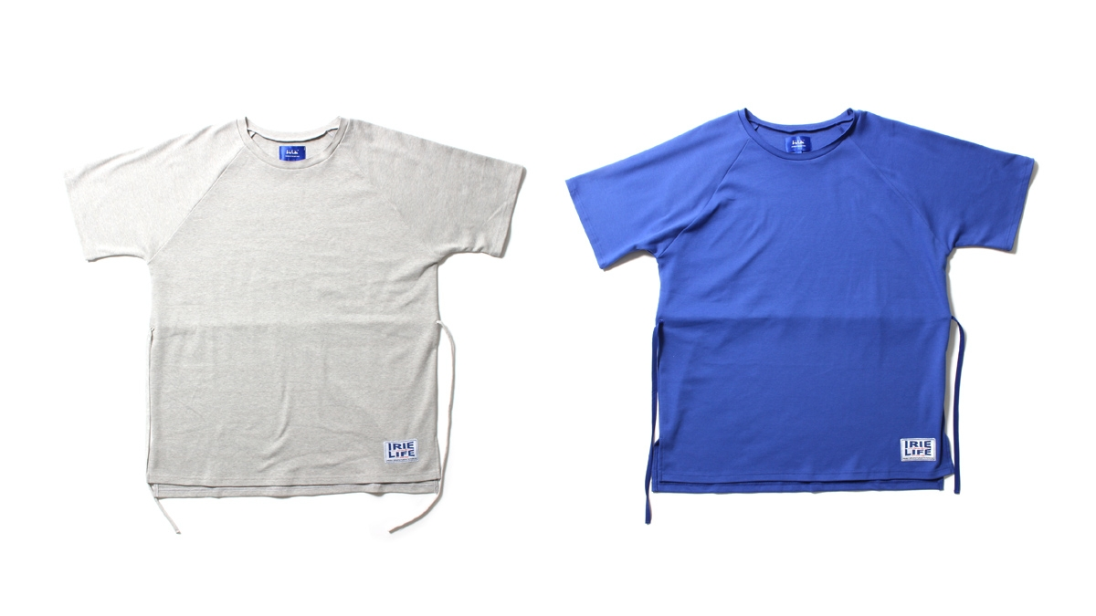 028 BIG CUT OFF CREW (GRAY BLUE) ¥12,000