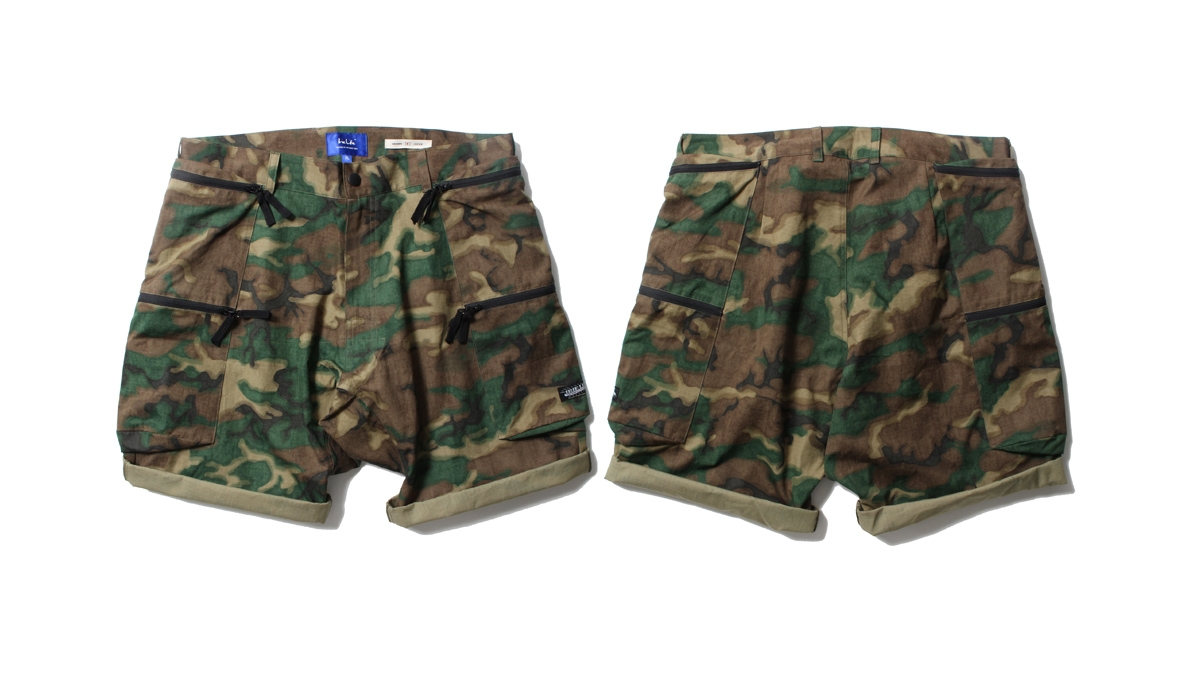 035 CANTAINER CARGO SHOERTS (CAMO) ¥17,500