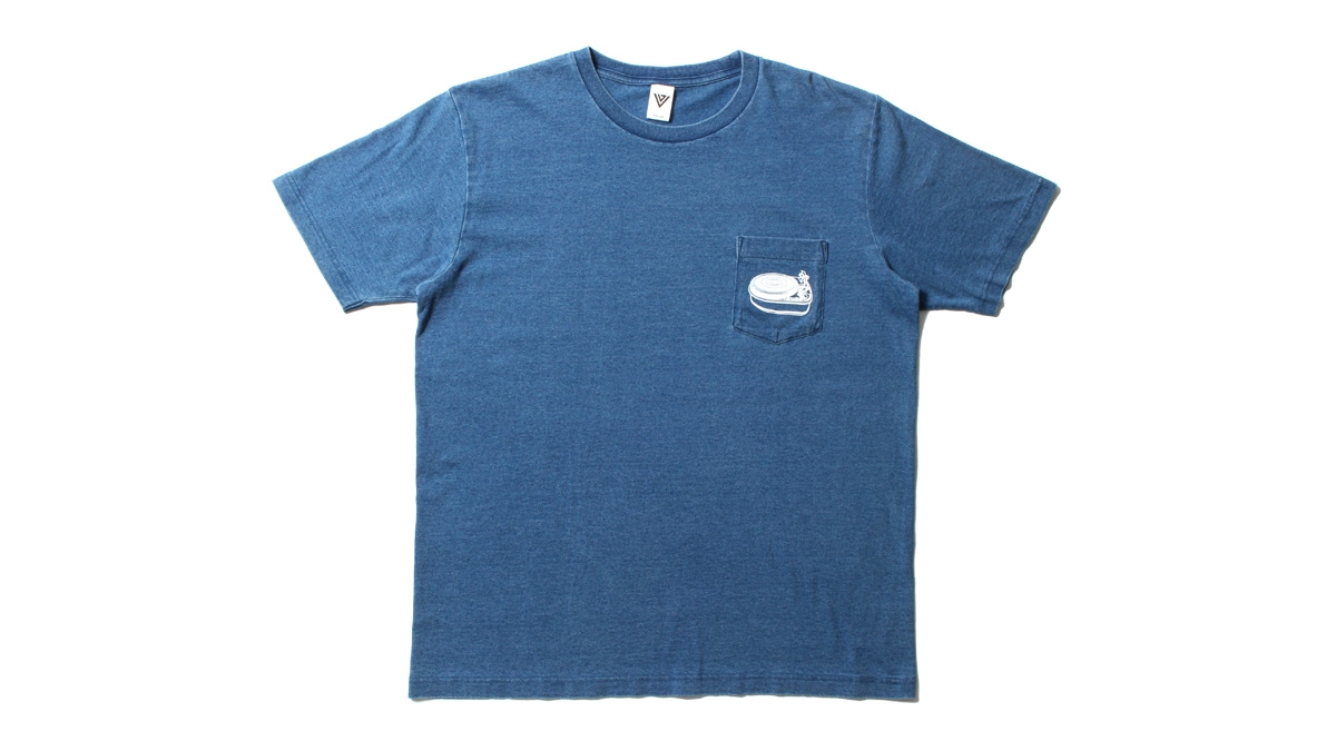059 VJ DENIM WASH POCKET TEE (DENIM) ¥5,000