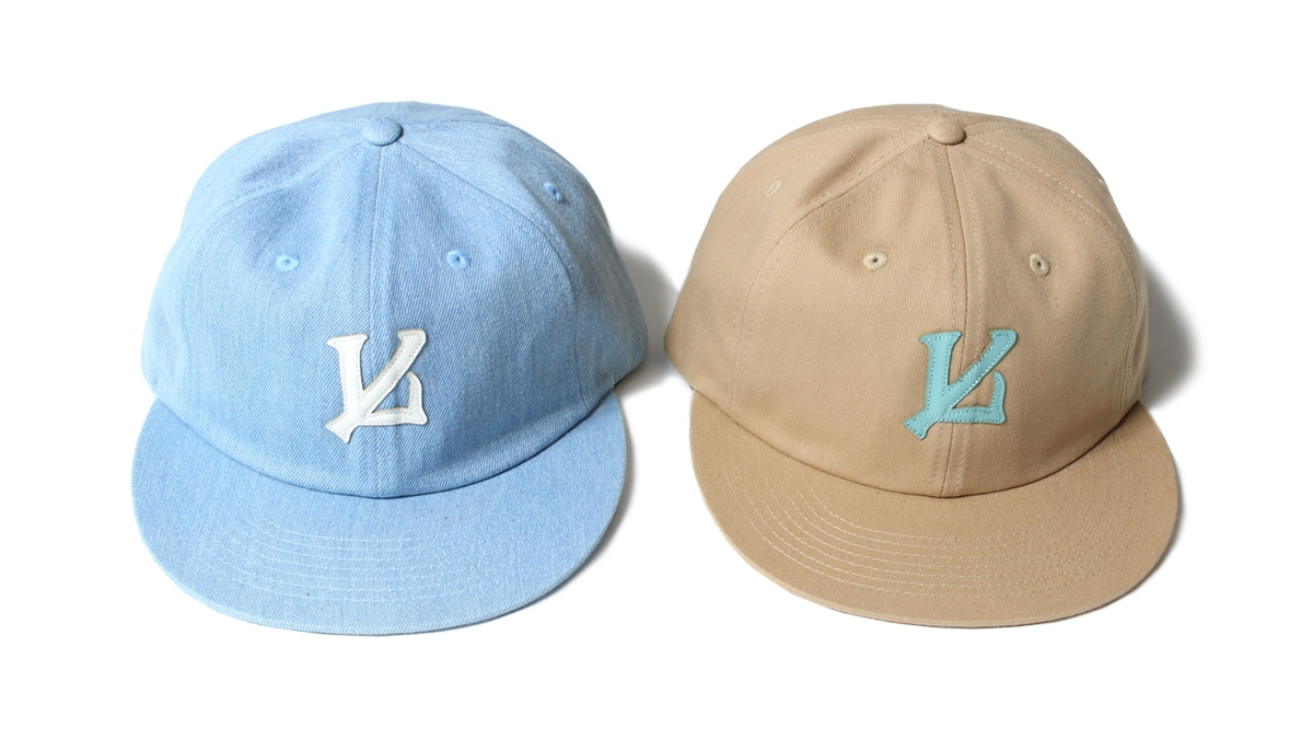 036 IL LOGO 6PANEL CAP (DENIM BEIGE) ¥6,400
