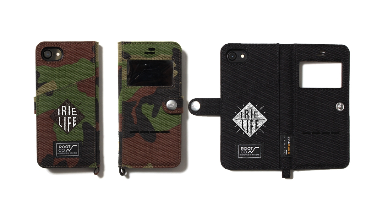004 ×ROOT CO. iPhone CASE (CAMO BLACK)¥4,600