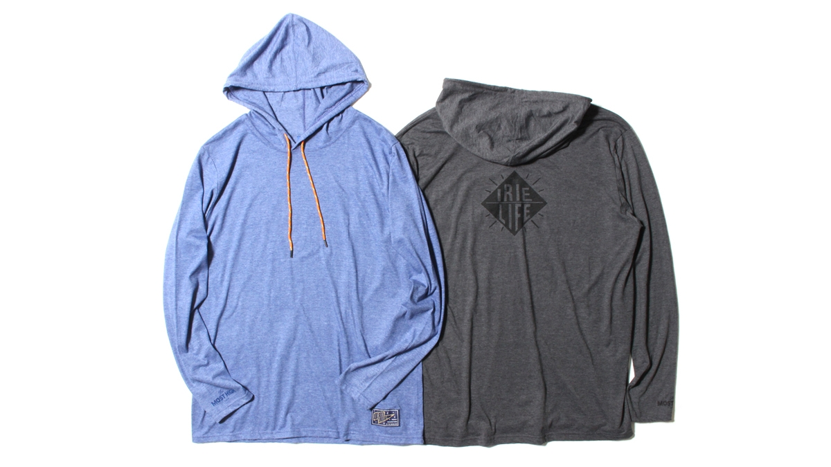 006 LOGO LIGHT HOODIE (BLUE CHACOAL)¥7,000
