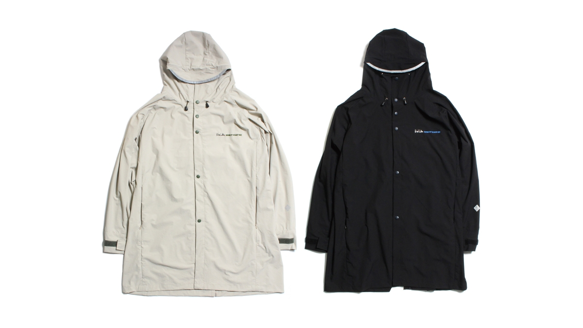 002 TRIPPING COAT(ASH GRAY BLACK) ¥22,000