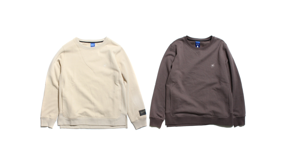 006 LIFE STAR CREW (CHACOAL BEIGE) ¥13,000