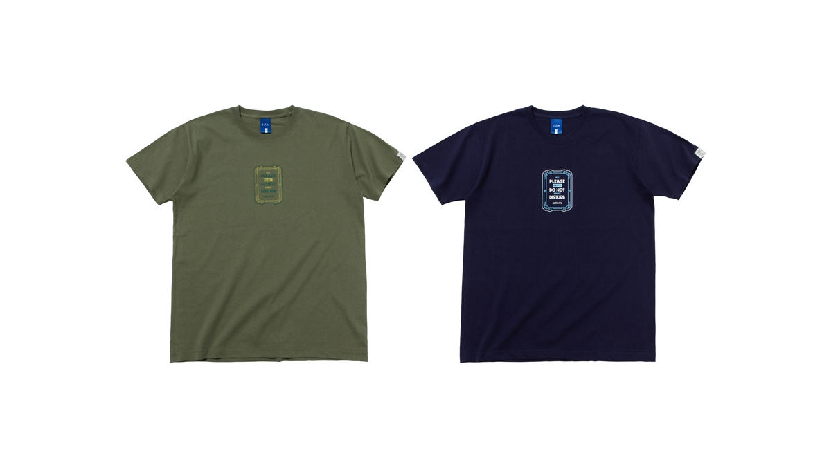 004 DON'T DISTURB TEE (OLIVE NAVY) ¥4,500