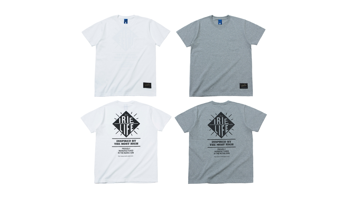 002 THE MOST HIGH TEE (WHITE GRAY) ¥4,500