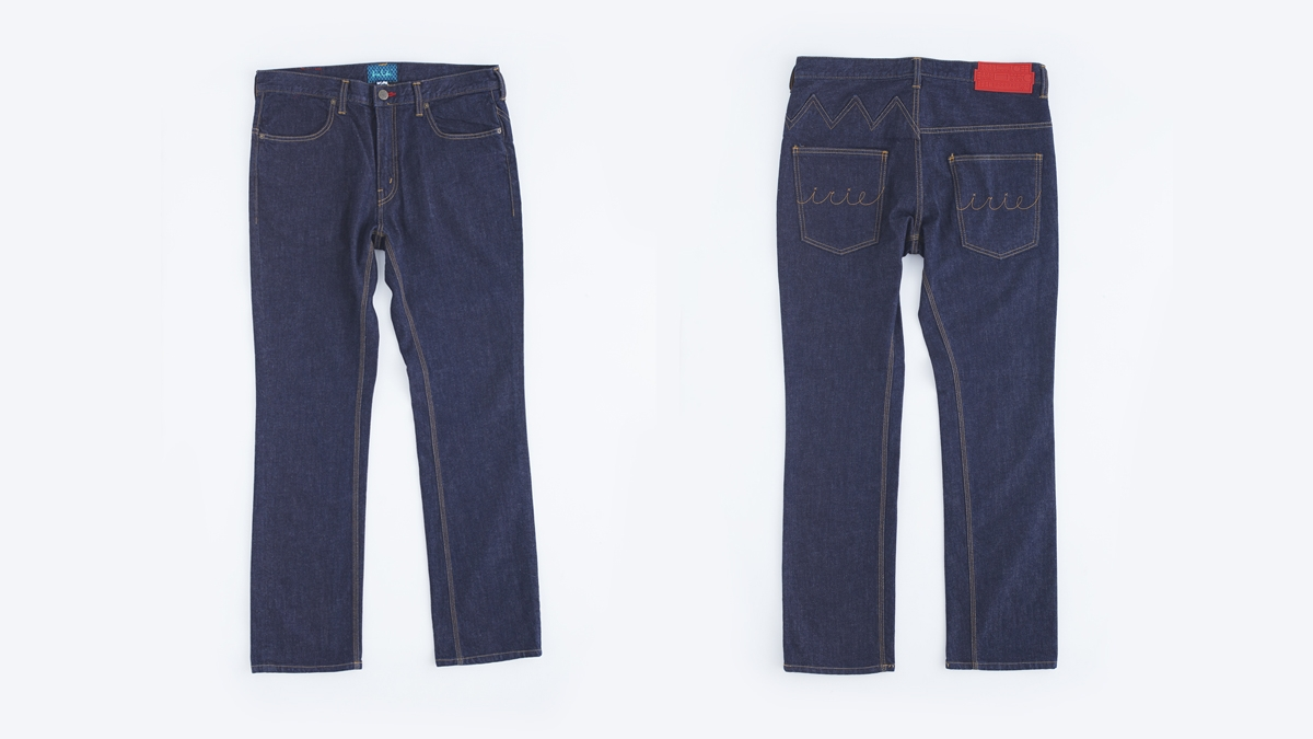WAVIN STRETCH DENIM (INDIGO) ¥16,800
