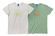 006 ORANGE HILL TEE ( OATMEAL Lt.GREEN) ¥5,000