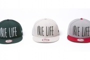 057 ×NEW  ERA IRIE LIFE SNAP BACK CAP ( GREEN OFFWHITE GRAY×RED ) ¥6,000