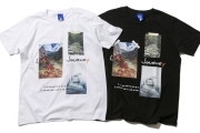 055 LIFE IS A JOURNEY TEE ( WHITE BLACK ) ¥5,500