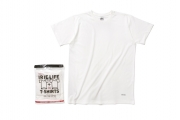 003 IRIE LIFE TAGLESS 2PACK TEE  ( WHITE ) ¥5,000