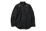 026 VJ DOCTOR BIRD B.D SHIRT ( BLACK ) ¥16,800