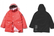 033 MOUTAIN DOWN JACKET ( ORANGE BLACK ) ¥49,800