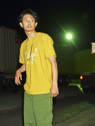 VJ COLLEGE LOGO TEE / EAZY CHINO PANTS / LIFE STONE NACKLACE