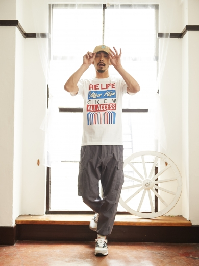 IL LOGO 6PANEL CAP / ALL ACCESS TEE / REBEL CARGO PANTS