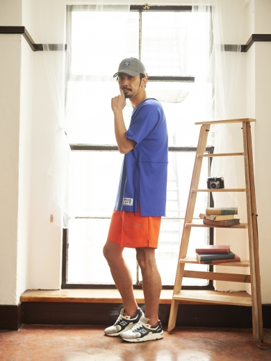 LIFE 4PANEL CAP / BIG CUT OFF CREW / 7INCH SPORTS SHORTS