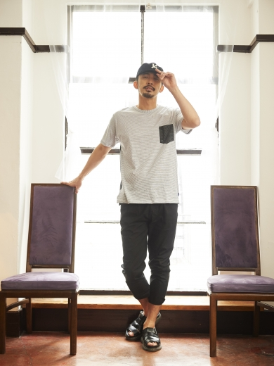 IL LOGO 6PANEL CAP / 2FACE POCKET TEE / LIFE WORK CHINO