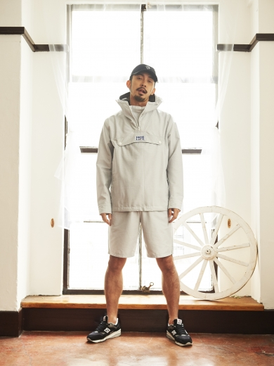 LIFE 4PANEL CAP / CHILL HALF ZIP / CHILL SHORTS